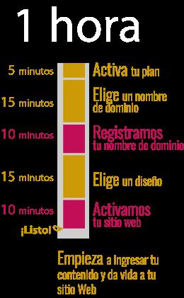 Sitio Web en una hora